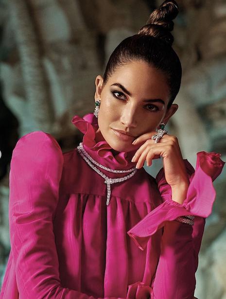 """Lily Aldridge stars in Bulgari's """"Mai Troppo"""" campaign. Image credit: LVMH"""