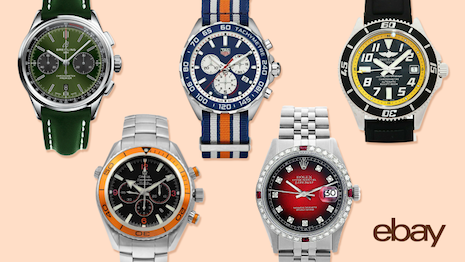EBay has become a serious marketplace for pre-owned luxury watches. Image credit: eBay