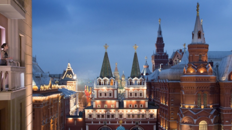 The Four Seasons Moscow. Image courtesy of Four Seasons