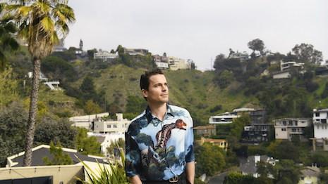 Matt Bomer stars in Neiman Marcus Men's Spring Campaign. Image courtesy of Neiman Marcus.
