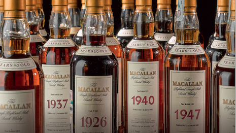 Top selling whiskey from Sotheby's Wine Market Report 2019. Image courtesy of Sotheby's