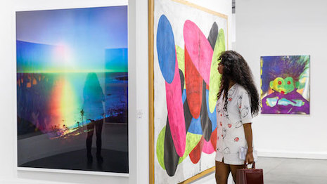 Millennials art buyers are on the rise per the latest Art Basel and UBS Global Art Market Report 2020. Image credit: Art Basel