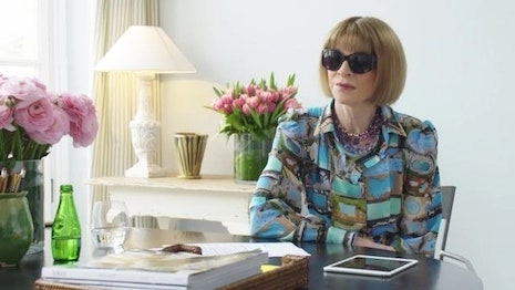 Anna Wintour is editor in chief of Vogue and artistic director of Condé Nast. Image credit: Condé Nast