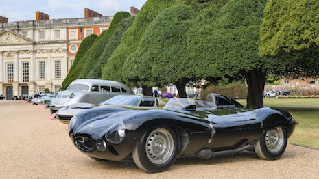 Concours of Elegance at Hampton Court Palace in England. Image courtesy of Concours of Elegance