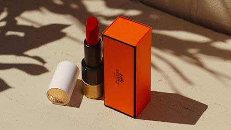 Many would argue that French fashion and leather goods giant Hermès is structured and positioned for long-term survival. Seen here, the new Hermès Beauty line of lipsticks, which is set to become another best-seller. Image credit: Hermès