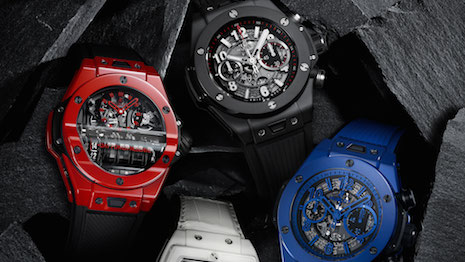 Hublot is closing its factory for the time being as a precaution against the coronavirus outbreak. Image credit: Hublot