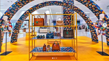 Fendi looks exclusively for Nordstrom's newly opened New York department store. Image credit: Nordstrom