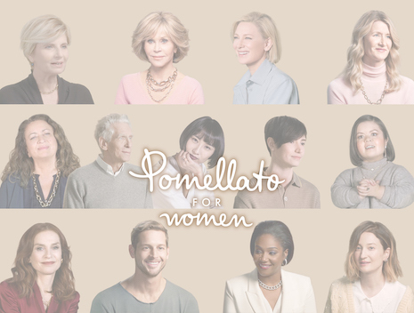 Iconic stars participate in Pomellato for Women's 2020 campaign. Image courtesy of Pomellato