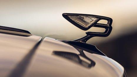 Bentley Motors is suspending its factory production as a precaution over the coronavirus outbreak. Image credit: Bentley Motors
