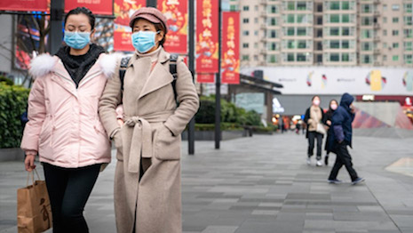 The coronavirus paralyzed China and disrupted business and luxury operations for almost three months. Image credit: China Luxury Advisors