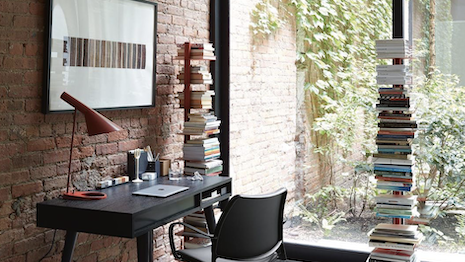 Design Within Reach home office. Image credit: Design Within Reach Instagram