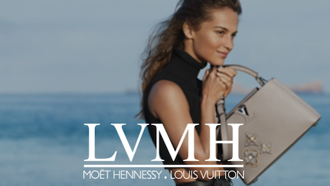 LVMH brands on personalization shopping site Qubit. Image credit: Qubit