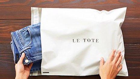 Le Tote fashion rentals. Image Credit: Le Tote