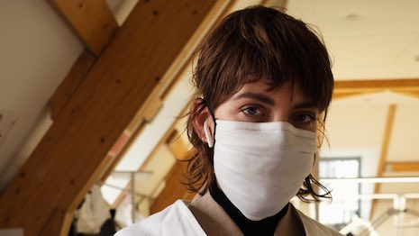 Kering's Balenciaga brand is producing up to 7,000 surgical masks each week for distribution to French hospitals. Image credit: Balenciaga