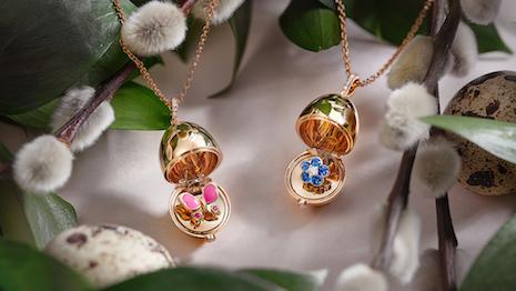 Fabergé eggs for the spring. Image credit: Fabergé