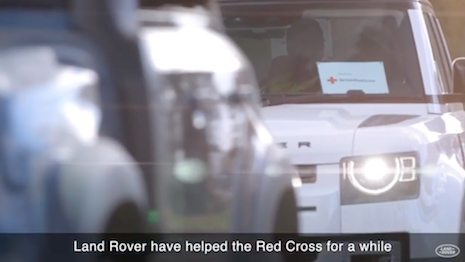 Jaguar Land Rover vehicles are being deployed worldwide to help emergency responders fight the COVID-19 outbreak. Image credit: Jaguar Land Rover