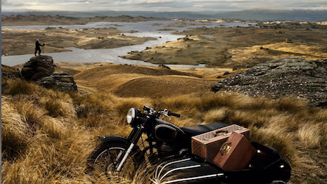 An Eric Valli photo for Louis Vuitton from a 2011 campaign shot in New Zealand. Image credit: Louis Vuitton