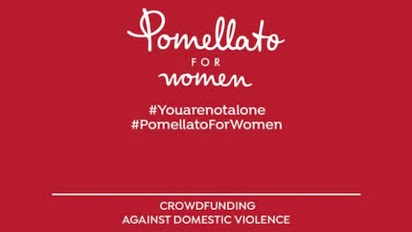 Milanese jeweler Pomellato has initiated a crowdfunding campaign to protect women as reports of an upsurge in domestic abuse pour in with the mandatory confinement in COVID-19-ravaged Italy. Image credit: Pomellato