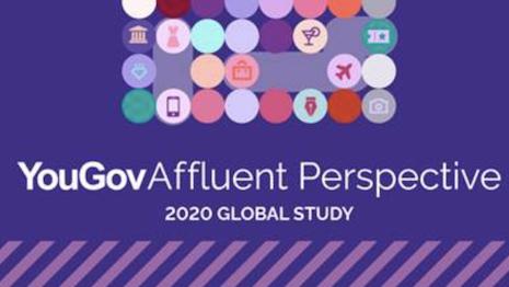 YouGov Affluent Perspective: 2020 Global Study. Image courtesy of YouGov