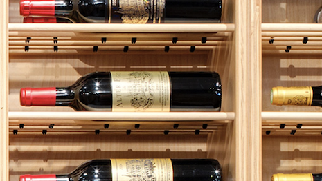 Wine rack. Image credit: Sotheby's Wines