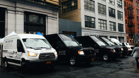 Yoox Net-A-Porter has taken its Volunteered Vehicles program to New York after similar moves in London, Milan and Hong Kong. Image courtesy of Yoox Net-A-Porter