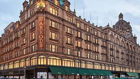 Harrods Knightsbridge London store. Image credit: Harrods
