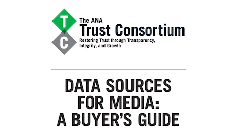 "ANA's ""Data Sources for Media: A Buyer's Guide"""