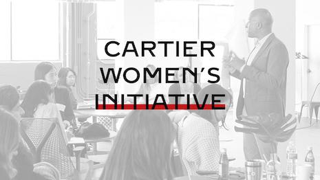Cartier Fellowship program for 21 finalists from the Cartier Women's Initiative. Image credit: Cartier