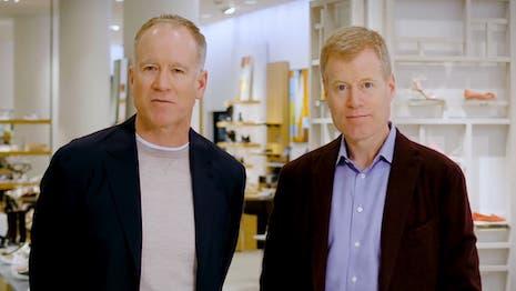 Nordstrom chief brand officer Erik Nordstrom (left) and CEO Pete Nordstrom. Image credit: Nordstrom