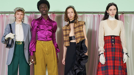 Gucci fashion show in February 2020. Image credit: Gucci
