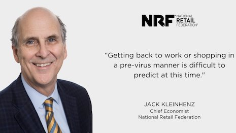 Jack Kleinhenz, chief economist of the National Retail Federation, is guarded on the pace of retail recovery with the impact of the COVID-19 shutdowns. Image credit: NRF