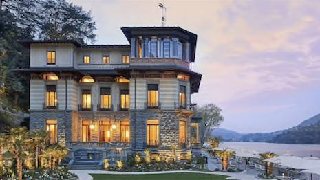 The Mandarin Oriental in Lake Como. Image credit: Mandarin Oriental