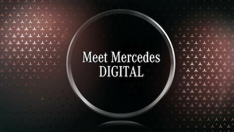 A new digital news format for media representatives with Meet Mercedes Digital, which is the digital press conference taken to a new dimension. Image courtesy of Mercedes-Benz