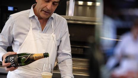 Parisian chef Yannick Alleno of Pavillon Ledoyen, stars in Moet & Chandon Instagram series. Image credit: Moet & Chandon
