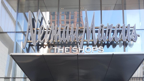 The Neiman Marcus store in New York's glitzy Hudson Yards area was the last major investment by the department store chain. Image credit: Neiman Marcus
