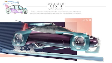 Rolls-Royce is keen to spot the next designer early on who will produce breakthrough ideas in auto design. Image courtesy of Rolls-Royce Motor Cars