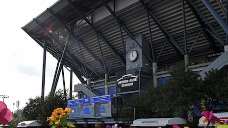 Rolex sponsors the U.S. Open at Arthur Ashe Stadium. Image credit: US Open