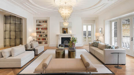 Eight-bedroom house for sale in Upper Phillimore Gardens, Kensington, London W8, price $39 million. Image courtesy of Knight Frank