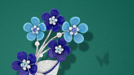 Van Cleef & Arpels' jewelry selection for Mother's Day 2020. Image credit: Van Cleef & Arpels