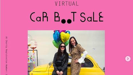 Women for Women International's annual car boot sale's went virtual this year. Image credit: Women for Women International