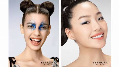 China has become a test tube for digital transitions of physical events as the COVID-19 lockdowns and bans on large gatherings force marketers such as Sephora to become more creative in their audience engagement. Image courtesy of Sephora, LVMH