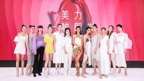The COVID-19 restrictions on public gathering forced Sephora China to take its beauty trends presentation to media and public online, attracting more than 1 million viewers to its various digital broadcast channels. Image courtesy of Sephora, LVMH