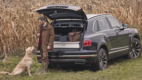 The ride for huntin', shootin' and fishin': Bentley Bentayga. Image courtesy of Bentley Motors