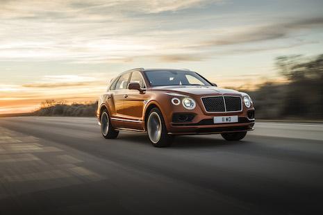 Bentley Bentayga. Image courtesy of Bentley Motors. Photo: James Lipman/jameslipman.com