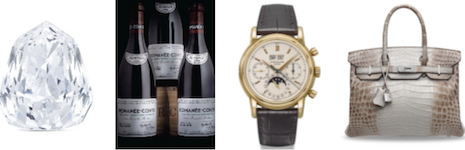 A range of items will be auctioned at Christie's digital auctions this summer. Image courtesy of Christie's