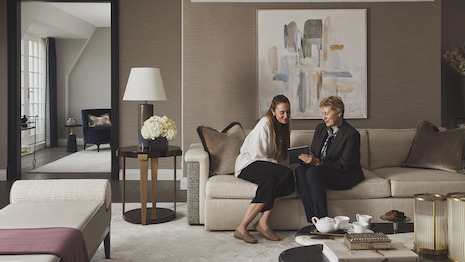 The Four Seasons app and chat capabilities are now available to private residence owners as contactless services become the new norm in the COVID-19 era. Image courtesy of Four Seasons Hotels and Resorts