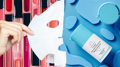 Skincare remained more resilient than makeup products during China's lockdown. Now that people are back on the streets, is this going to change soon? Image credit: Shutterstock, Estée Lauder and SuperOrdinary
