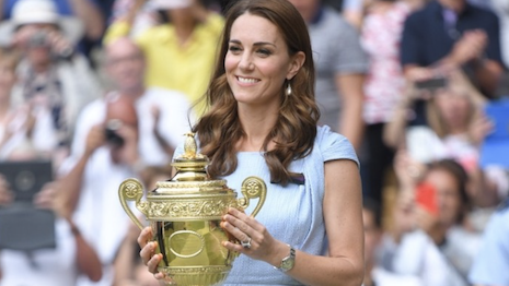 Duchess of Cambridge Kate Middleton narrates a new campaign to celebrate Wimbledon even as it is cancelled due to the pandemic. Image credit: Wimbledon