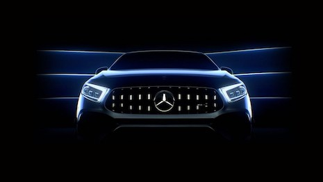 Mercedes hosted a virtual event to premiere a new series of products. Image credit: Mercedes