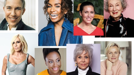 Twenty celebrities volunteered advice to their younger selves to mark online retailer Net-A-Porter's 20th anniversary. Image credit: Net-A-Porter